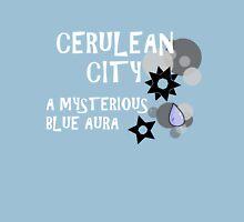Cerulean City: A Mysterious, Blue Aura Unisex T-Shirt