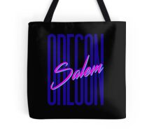 Retro 80s Salem, Oregon Tote Bag