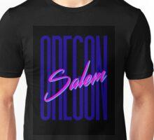 Retro 80s Salem, Oregon Unisex T-Shirt