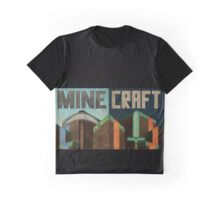 Minecraft poster Graphic T-Shirt