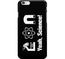 Breaking Bad - Pinkman quotes - yeah science iPhone Case/Skin