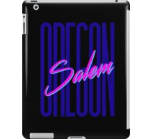 Retro 80s Salem, Oregon iPad Case/Skin