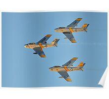 F-86 Sabrejets Poster