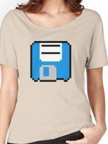 Floppy Disk - Blue Women's Relaxed Fit T-Shirt