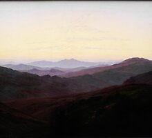 Caspar David Friedrich (19)Riesengebirge by Adam Asar