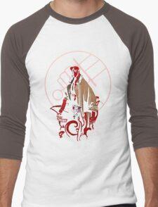 HellBoy Men's Baseball ¾ T-Shirt