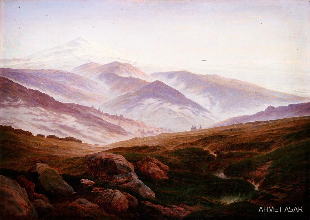 Caspar David Friedrich 016 by Adam Asar