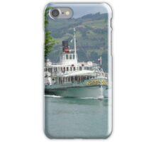 Dampfschiff Blumlisalp, Switzerland. (Sold in aid of Medway Queen restoration) iPhone Case/Skin