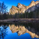 Cathedral Rocks Reflections by Nickolay Stanev
