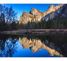 Cathedral Rocks Reflections Photographic Print