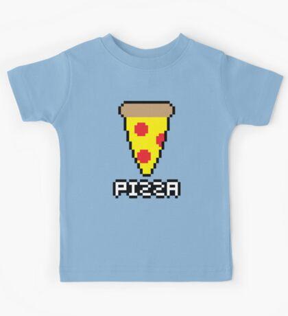 8-Bit Pizza Kids Tee