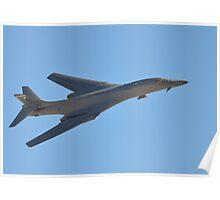 B-1B Lancer Bomber Poster