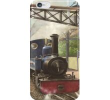 exbury gardens narrow gauge steam locomotive iPhone Case/Skin