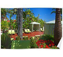 Cabana @ Hyatt Avaria Poster