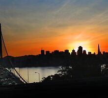 Sunset San Francisco by David Denny