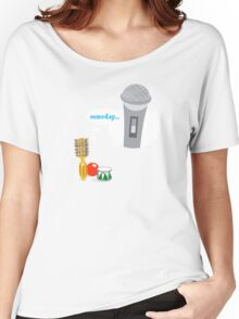 Little Round Brush Dreaming ... Women's Relaxed Fit T-Shirt
