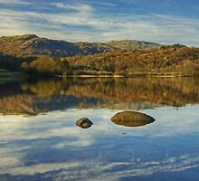 Rydal Water....The Lake District by Jamie  Green