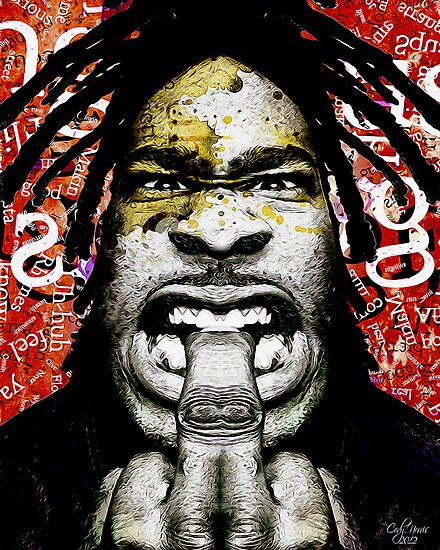 Busta Rhymes by CodyNorris