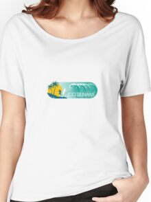 Hollywood Babble-On: Too Tsunami Women's Relaxed Fit T-Shirt