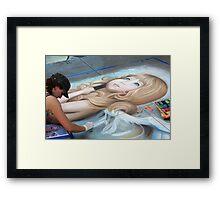 20th Anniversary Pasadena Chalk Festival Framed Print