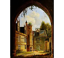 Cour hotel de Cluny MNMA Cl23879 Photographic Print
