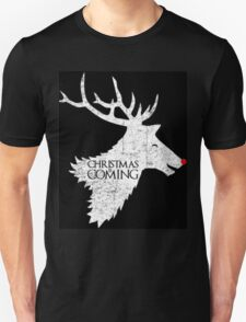 Christmas is Coming - Game of Thrones Xmas Gift T-Shirt
