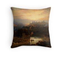 El Castillo de Alcalá de Guadaíra (David Roberts) Throw Pillow