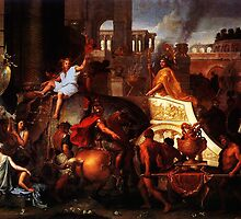 Entry of Alexander into Babylon by Adam Asar
