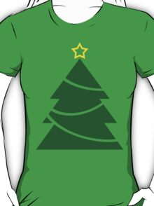 Minimal Christmas Tree T-Shirt