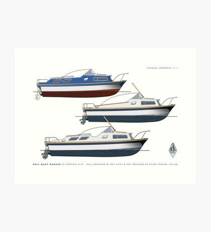 Dell Quay Ranger 25 & 27s Art Print