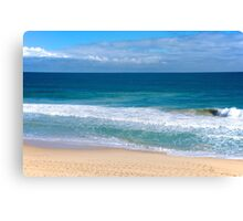 Indian Ocean at Scarborough Beach Canvas Print