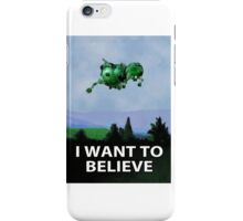 I Want To Believe (Starbug) iPhone Case/Skin