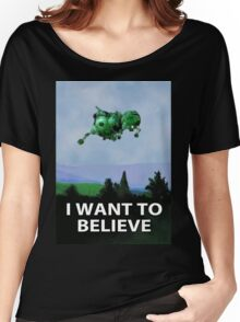 I Want To Believe (Starbug) Women's Relaxed Fit T-Shirt