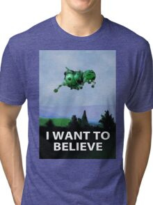 I Want To Believe (Starbug) Tri-blend T-Shirt