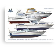 Fairey Spearfish 30, Spears and Fantome 32  Canvas Print