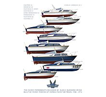 The Fairey Powerboats Photographic Print