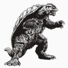 Gamera Kaiju by mobii
