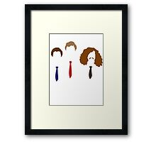 Workaholics - Adam, Anders, and Blake Framed Print