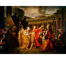 farewell of hector and andromache Photographic Print