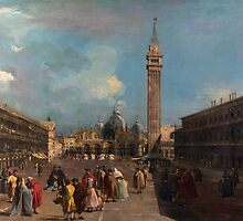 Francesco Guardi   Venice Piazza San Marco (c. 1760) by Adam Asar