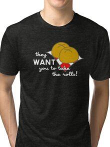 Boy Meets Rolls Tri-blend T-Shirt