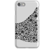 Hand the house2 iPhone Case/Skin