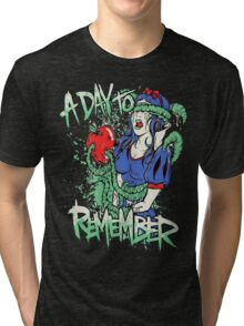 A Day To Remember Snow White Tri-blend T-Shirt