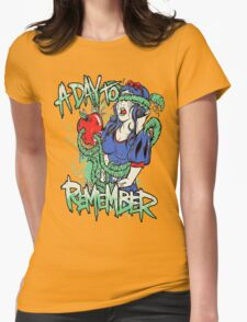 A Day To Remember Snow White Womens Fitted T-Shirt