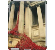 Poppies at St Georges Hall iPad Case/Skin