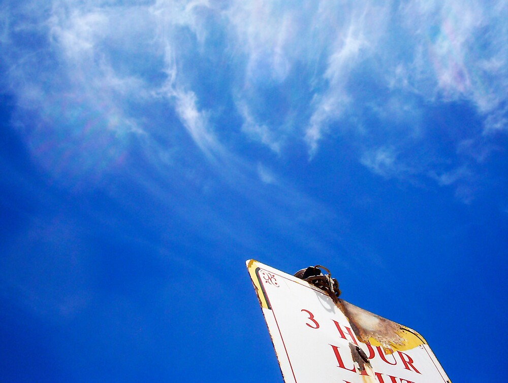 The Beach Sign Two by Robert Phillips