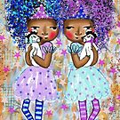 Blue and Violet by Beatrice  Ajayi