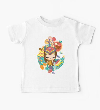 Deep in the forest - Nimi Collection Baby Tee