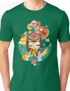 Deep in the forest - Nimi Collection Unisex T-Shirt
