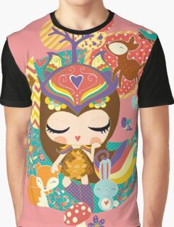 Deep in the forest - Nimi Collection Graphic T-Shirt